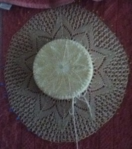 lace hat from A Gathering of Lace.