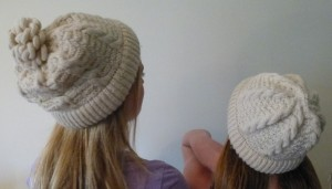 two similar hats