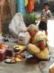 Suja's mum at prayer