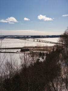 bridge to Ile d'Orleans