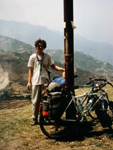 Alan on the roadside in Nepal
