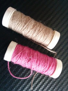 Little spools of wool