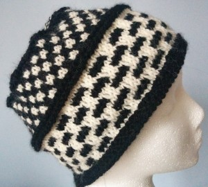 Two-Stitch Check/Four-Stitch Check Hat