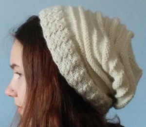 Quaker Ridging slouch hat-side view
