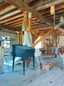 Grist mill interior