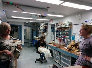 costuming department