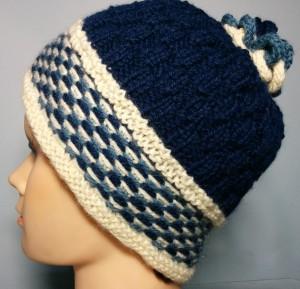 Double Tricolor Fabric Stitch