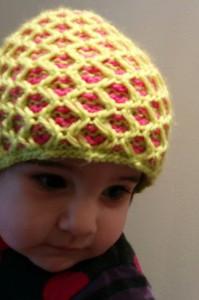 Arya got a new hat...