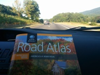bought a road atlas at Crackerbarrel